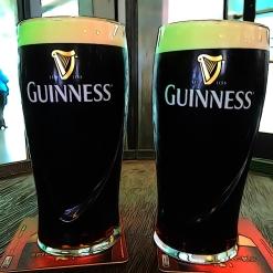 Samples at the Guinness Storehouse, Dublin