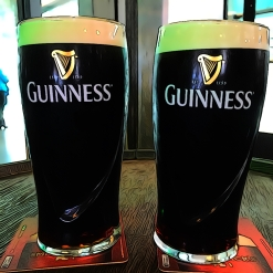 Samples at the Guinness Storehouse, Dublin