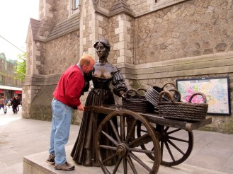 Checking out Molly Malone