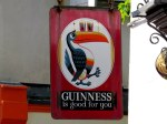 They seem to drink a lot of Guinness here.