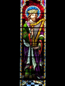 Christ with a Harp, St. Mary's Cathedral, Killarney