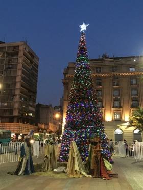Plaza de Armas, Santiato