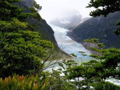 Serrano Glacier in Bernardo O´Higgins National Park