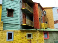 La Boca neighborhood in Buenos Aires