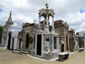 Recoleta Cemetery, Buenos Aires. Where Eva Peron is buried.