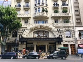 El Ateneo Bookstore. Just your basic theatre turned bookstore in downtown Buenos Aires, Argentina. This was formerly the Grand Splendid Theater.