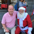 My visit with Santa in Santiago