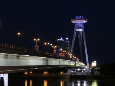 "The ""UFO"" Bridge, Bratislava"