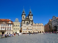 Town Square in Old Town Prague