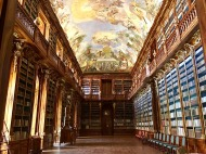 Library at the Strahov Monastery, Prague