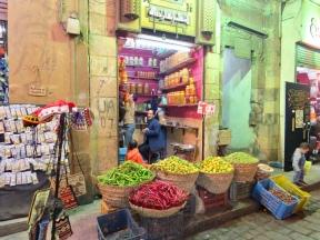 Street market in Cairo
