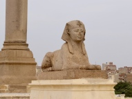 Sphinx at Pompay's Pillar, Alexandria