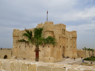 Qaitbay Citadel, Alexandria. Site of the ancient lighthouse of Pharos.
