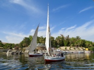 On the Nile, Aswan