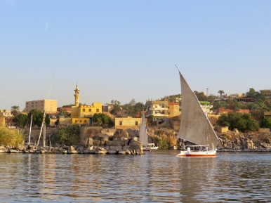 On the Nile in Aswan