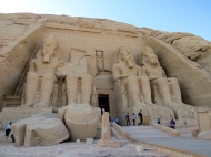 Great Temple of Ramesses II at Abu Simbel, 13th Century BC.