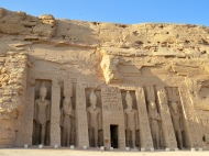 Temple of Nefertari at Abu Simbel, 13th Century BC