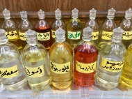 Scented oil shop, Aswan