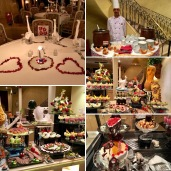 New Year's Eve dinner on the M/S Prince Abbas