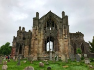 Ruins of Melrose Abbey