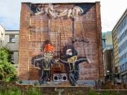 Hip Hop Marionettes, Glasgow City Centre Mural Trail