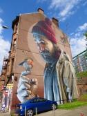 St. Mungo, Glasgow City Centre Mural Trail