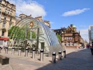 Glasgow Metro Station