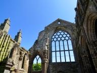 Ruins of Holyrood Abby, Edinburgh
