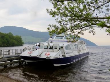 Cruise on Loch Ness