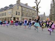 Scottish Dancers in Thurso