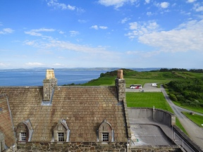 From the top of Duarte Castle