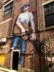 The Musician, Glasgow City Centre Mural Trail