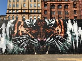 Glasgow's Tiger, Glasgow City Centre Mural Trail