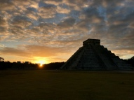 Chichén Itzá at sunrise