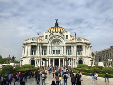 Bellas Artes Museum and Opera House, Mexico City