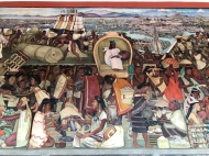 Diego Rivera mural at the National Palace, Mexico City