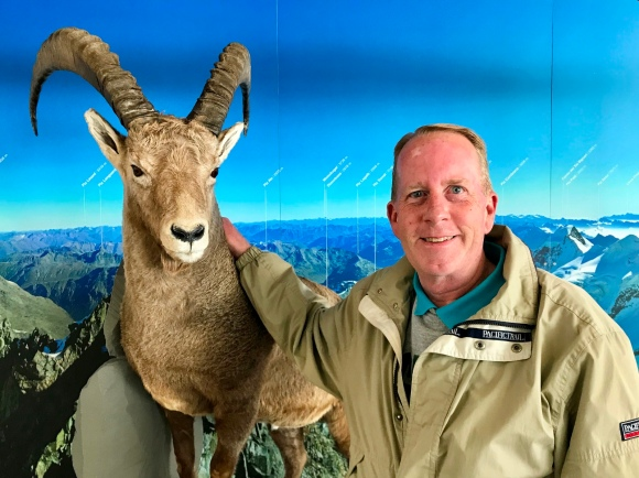 Me and my Alpine Ibex