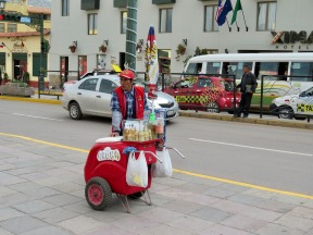 Ice Cream Man in Cusco